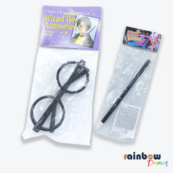 Boys magical sunglasses & wand costume