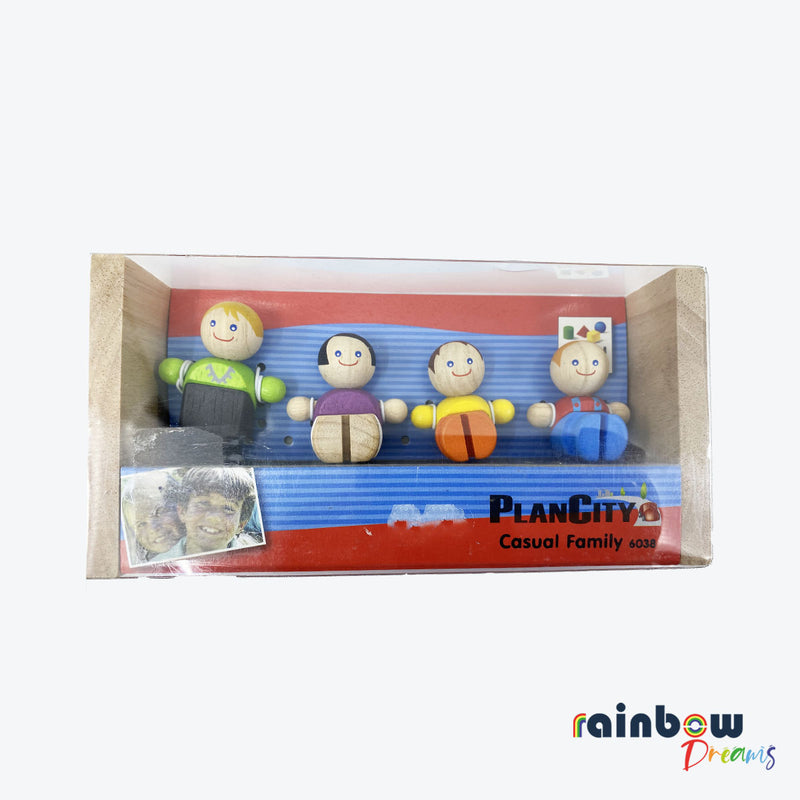 Plan City Toys Casual Family