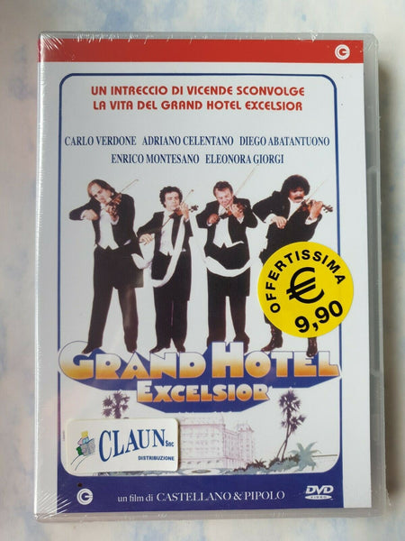 Grand Hotel Excelsior (1982) DVD Nuovo