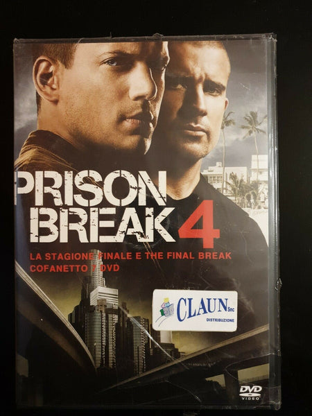 Prison Break. Stagione 4 + The Final Break (2008) Cofanetto 7 DVD  Nuovo