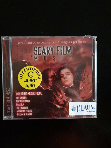 SCARY FILM Music CD NUOVO