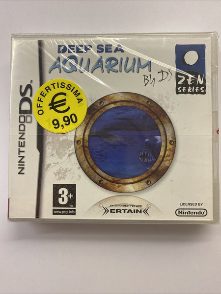 Deep Sea Aquarium Nintendo Ds Stampa Italiana Manuale in Italiano Raro