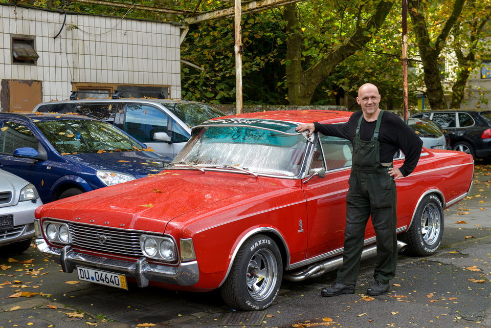 Streetworkshop, Ford taunus,  Workshop Fotokurs