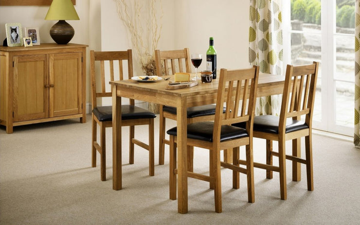Coxmoor Oak Rectangular Dining Set