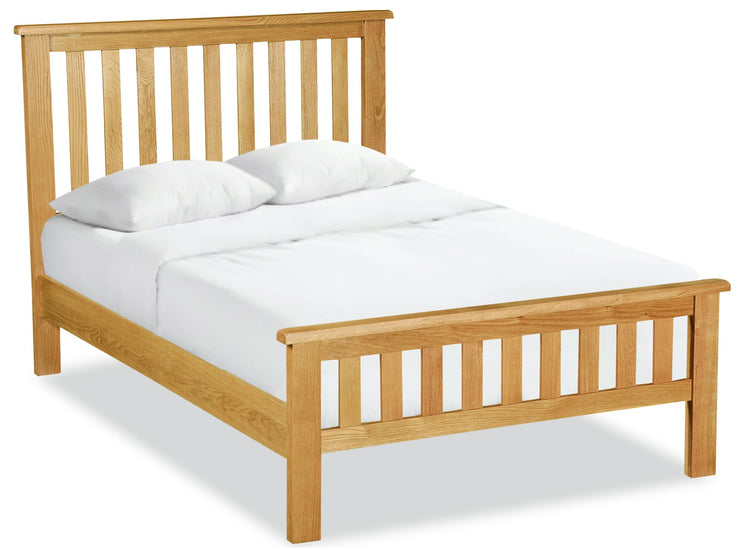 Salisbury Lite 4'6 Slatted Bed