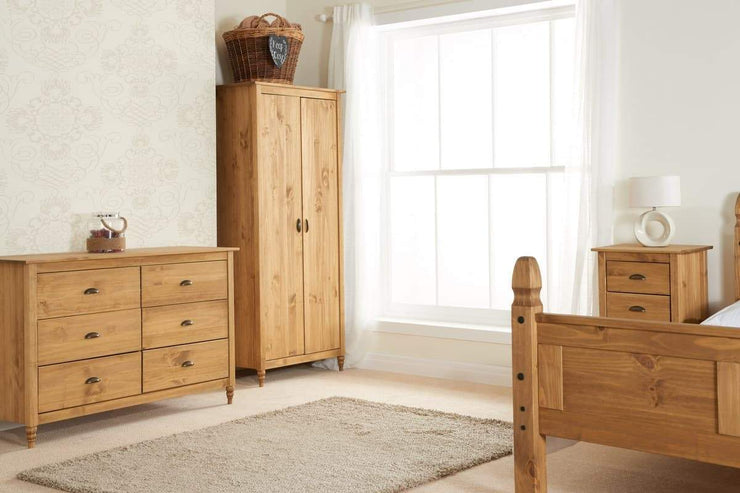 Pembroke 6 Drawer Wide Chest Of Drawers