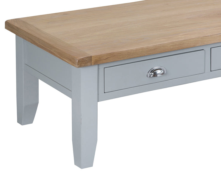 Two Tone Large Coffee Table