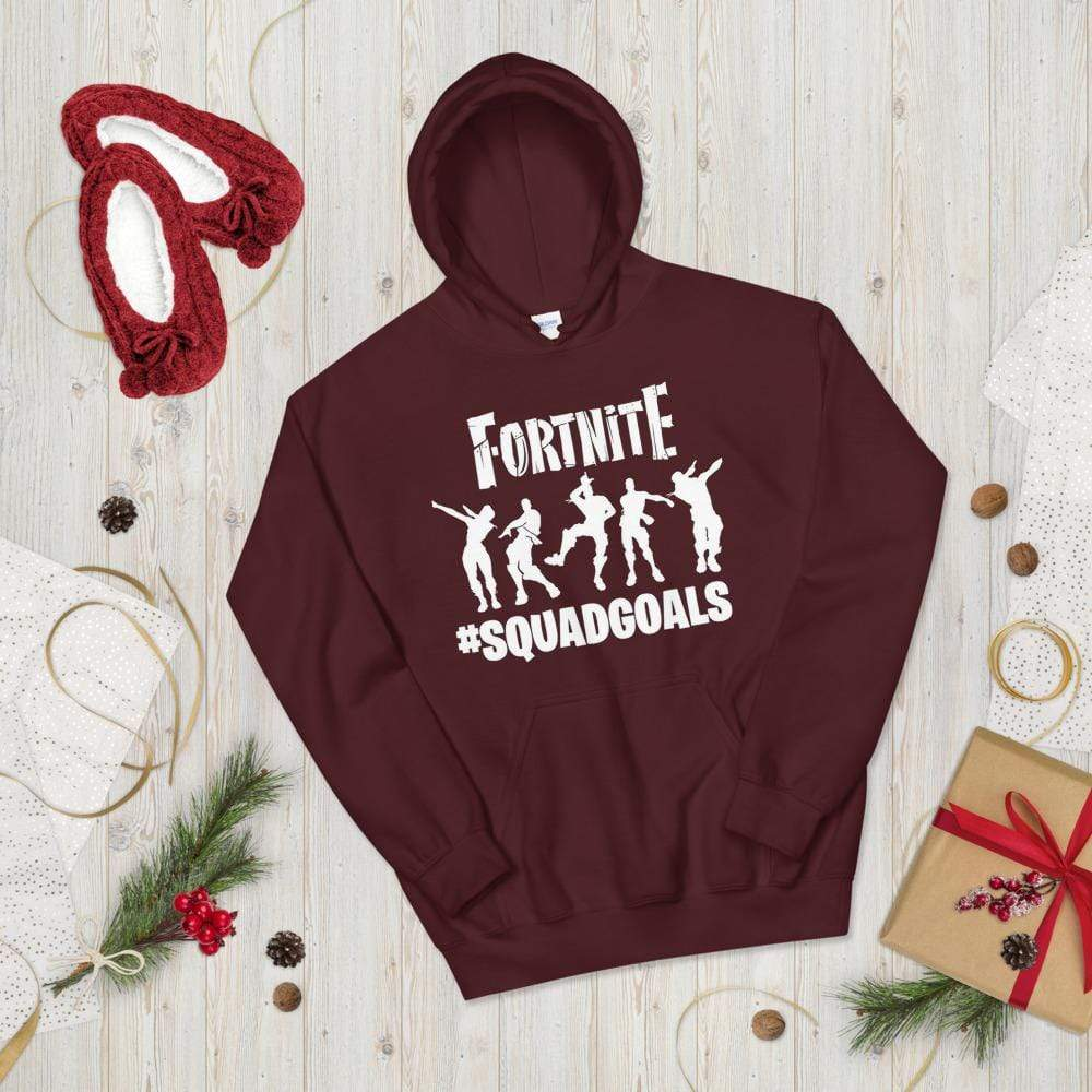 "Addicted City Fortnite ""SQUADGOALS"" Hoodie - Addicted City"