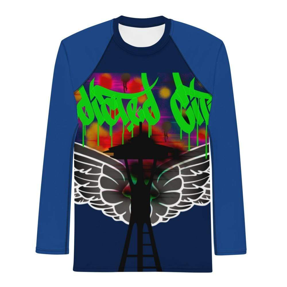 Addicted City Graffiti Streetwear Long Tee - Addicted City