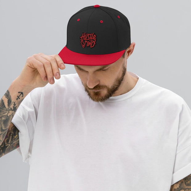 Addicted City Hustle & Grind Snapback Hat - Addicted City
