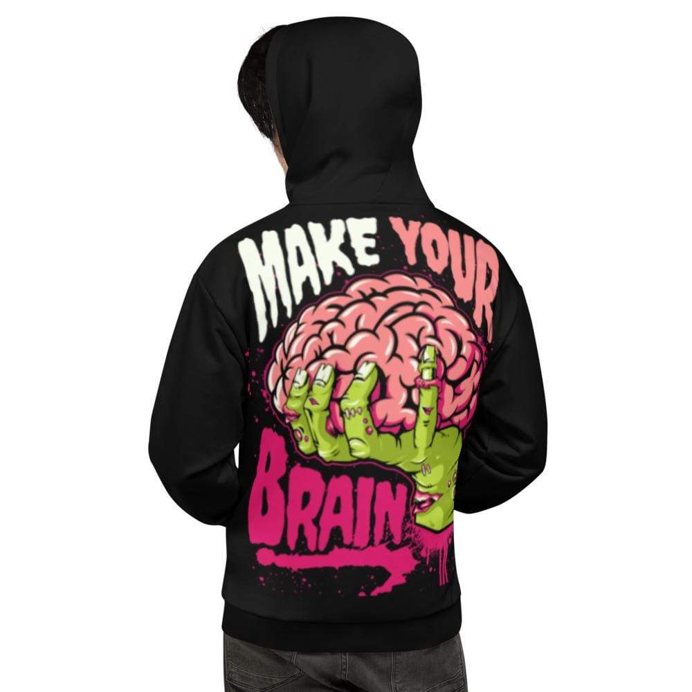 Addicted City Make Your Brain Hoodie - Addicted City