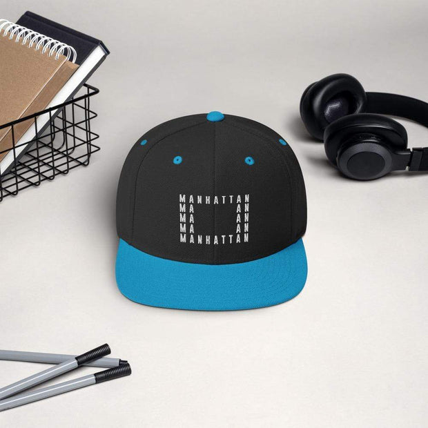 Addicted City Manhattan Snapback Hat - Addicted City