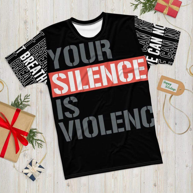 "Addicted City ""Silence is Violence"" Tee - Addicted City"