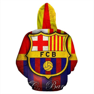 Barcelona Soccer Hoodie - Addicted City