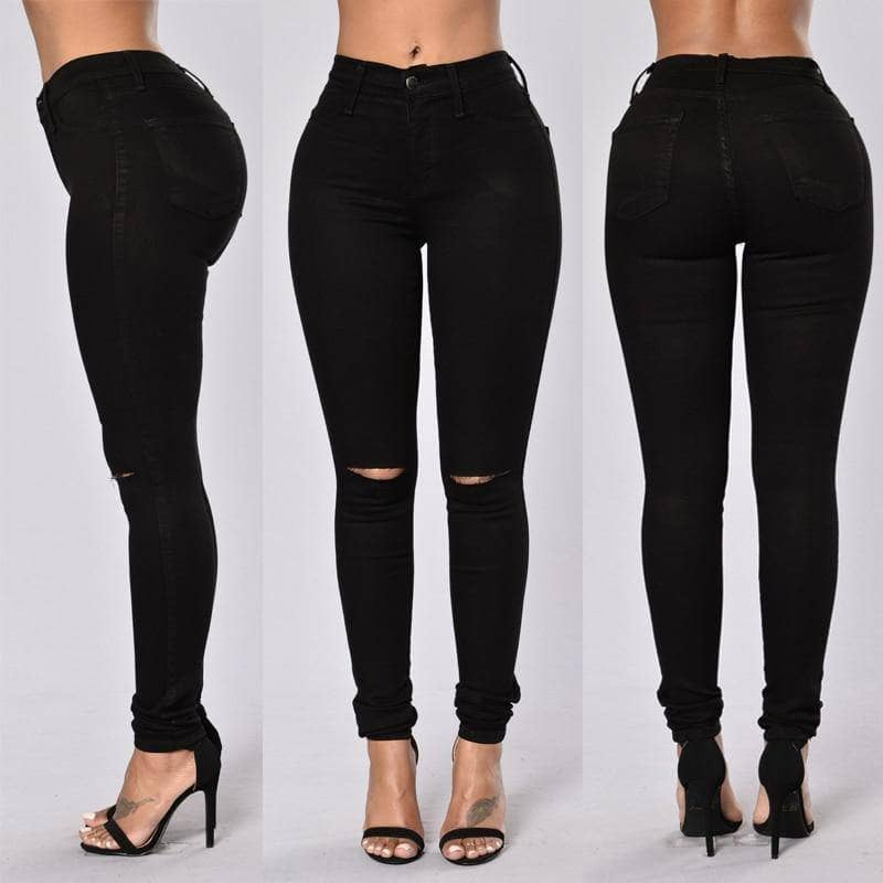 Bella Fonte High Waist Womens Skinny Jeans - Addicted City