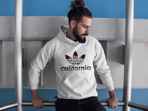 California Hoodie White - Addicted City