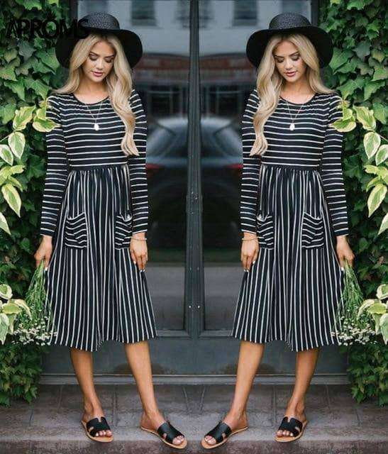 Casual Midi Dresses by Aproms™ - Addicted City