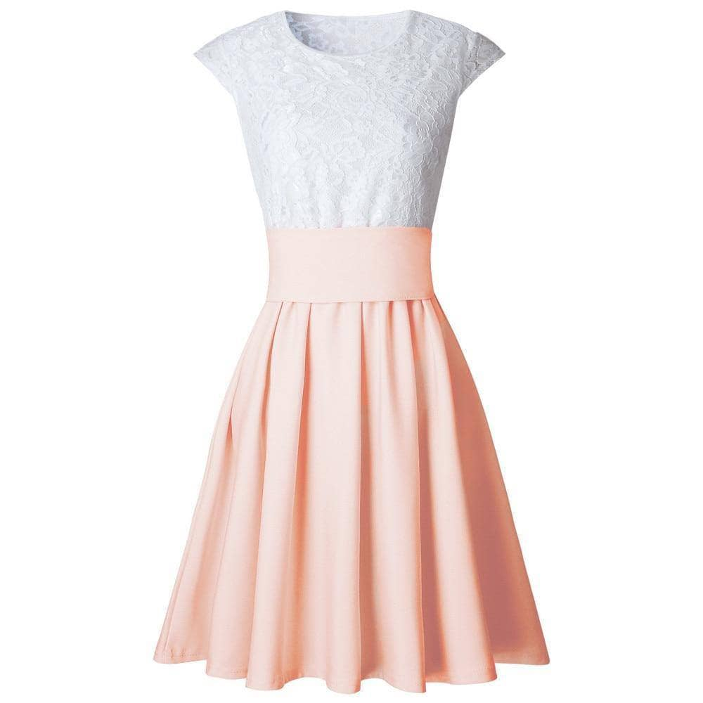 Class Skater Dress By Dante - Addicted City