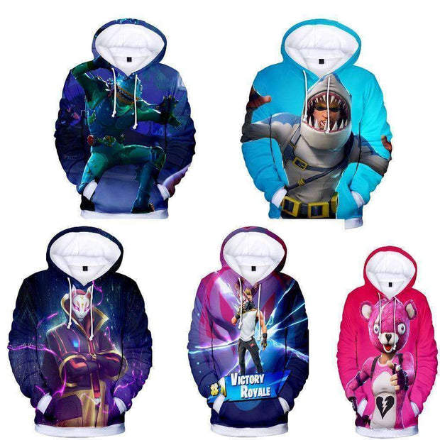 Fortnite™ Battle Royal Mens Hoodie - Addicted City