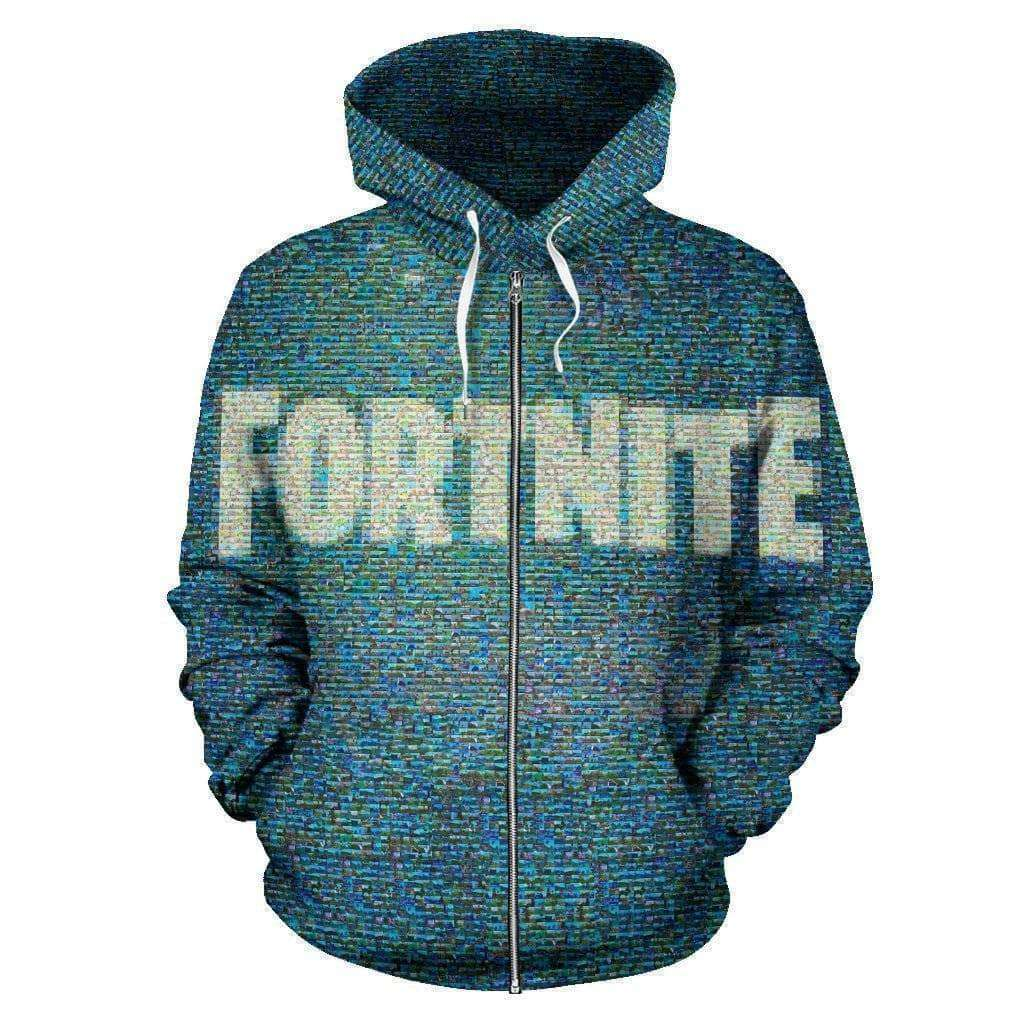 fortnite-blurry-lines-zip-up-hoodie - Addicted City