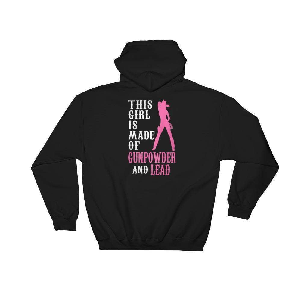 Gun Powder And Lead Hoodie - Addicted City