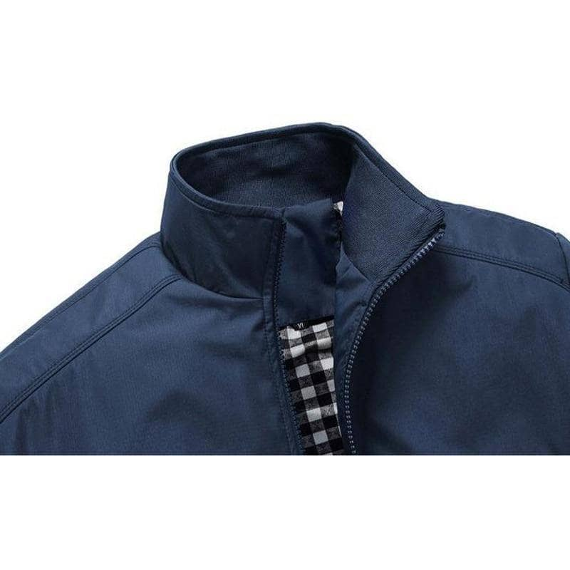 Hard Trader™ Men's Blue Collar Jacket - Addicted City
