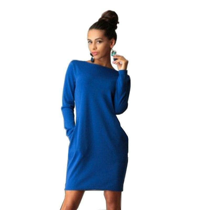 I Am Beauty™ Autumn Dress  (PLUS SIZE UP TO 5X) - Addicted City