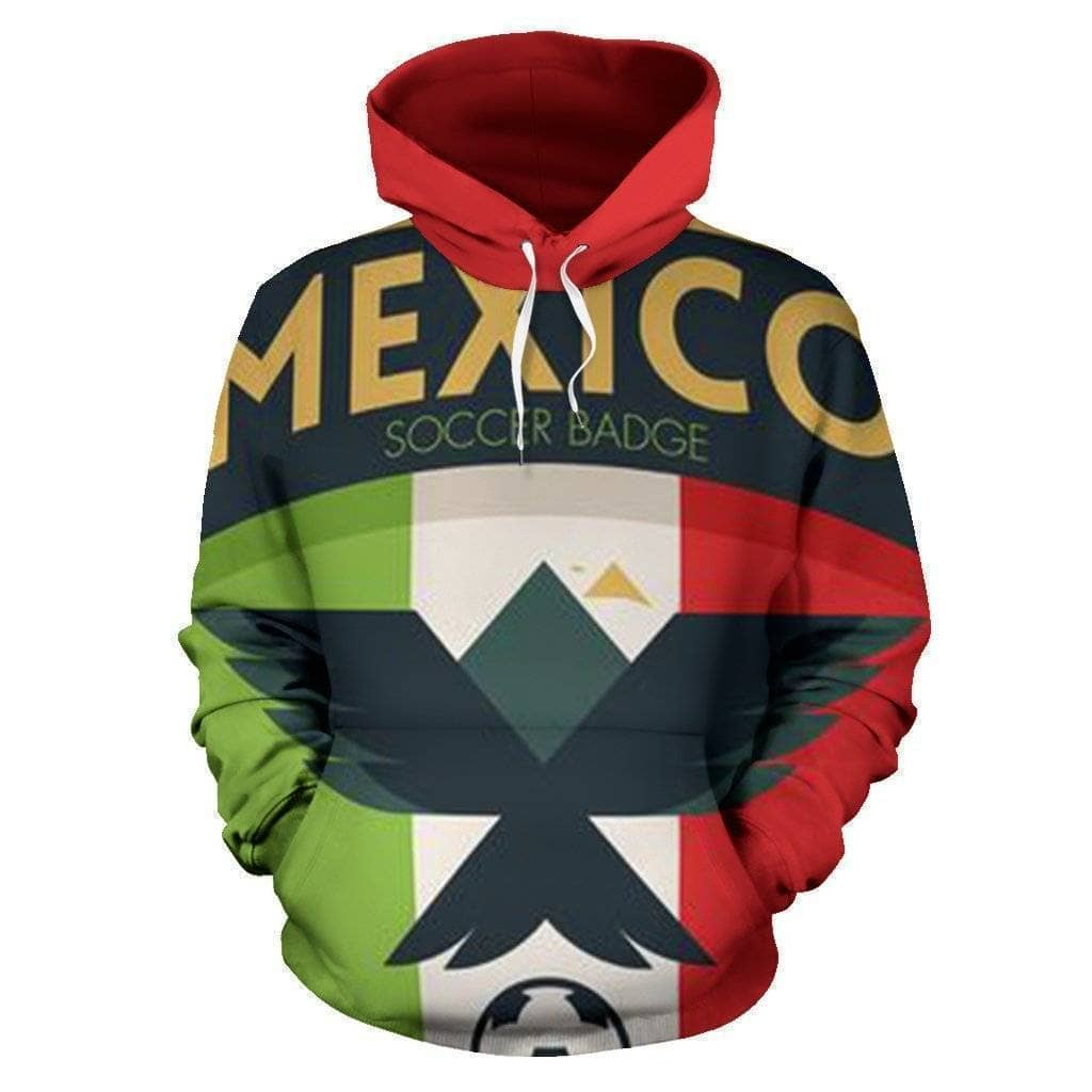 Mexico Soccer Hoodie - Addicted City