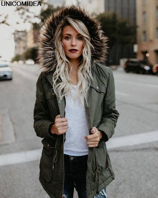 Military Flood Womens Jacket - Addicted City