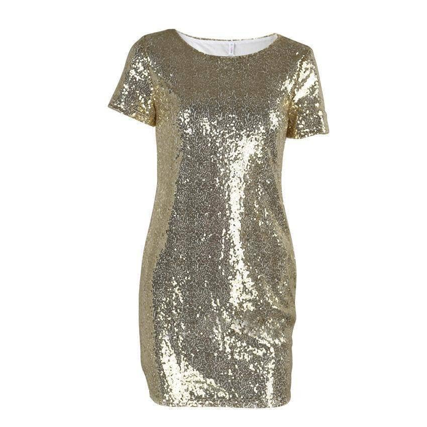 Mini Sequins Dress - Addicted City