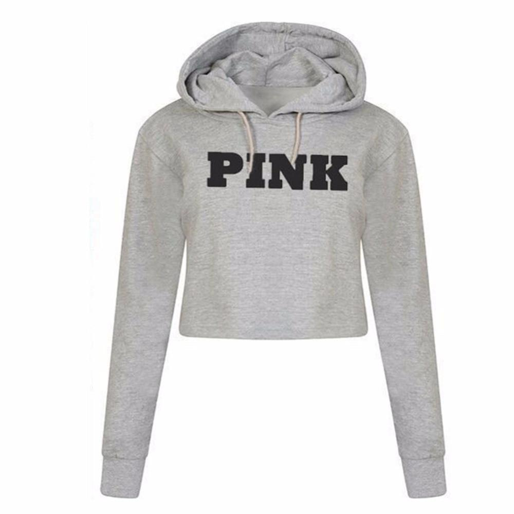 Pink™ Crop Top Hoodie - Addicted City