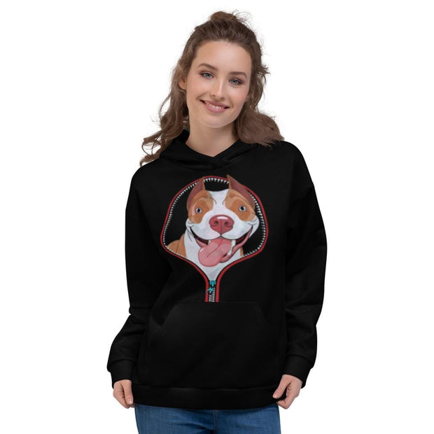 Pitbull Zipper Hoodie - Addicted City