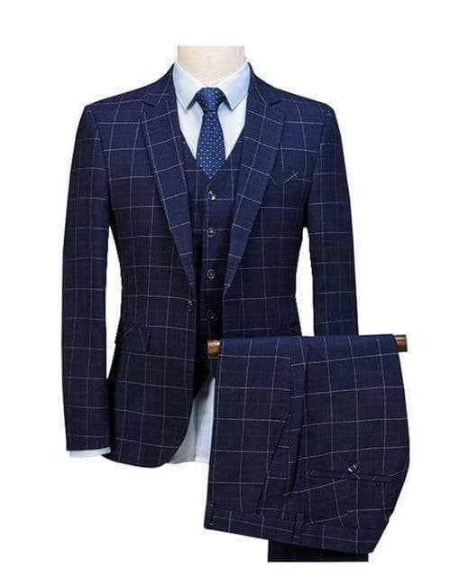 Rendition by Caprici Men's 3 Piece Suit (Jacket+Pants+Vest) - Addicted City
