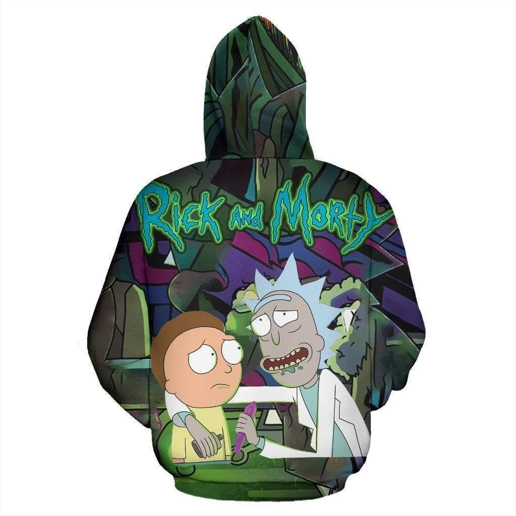 rick-and-morty-fun-hoodie - Addicted City