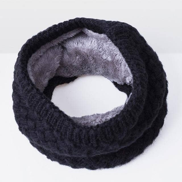 SOLID Winter Collar Scarf - Addicted City