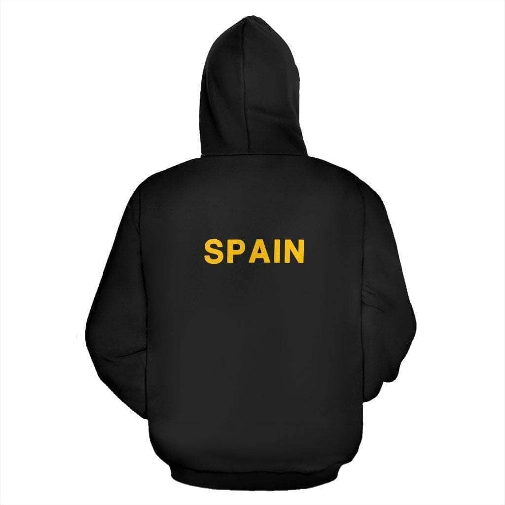 spain-soccer-zip-up-hoodie - Addicted City
