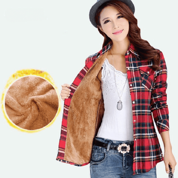 The Wookie - Women's Lined Flannel - Addicted City