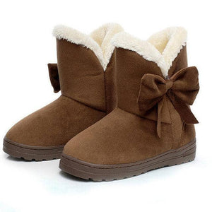 WOLF Mid Cut Bow Aussie Boot - Addicted City