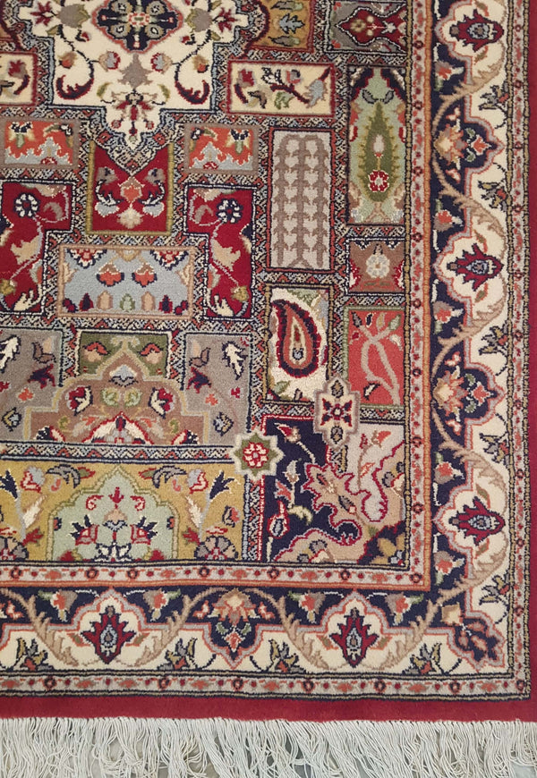 Rugs Online🥇 5.0 x 3.0 Antique Compartment Authentic Persian Wool Handmade Rug