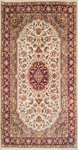 Rugs Online🥇 5.0 x 3.0 Double Knot Kashan Authentic Persian Wool Handmade Rug