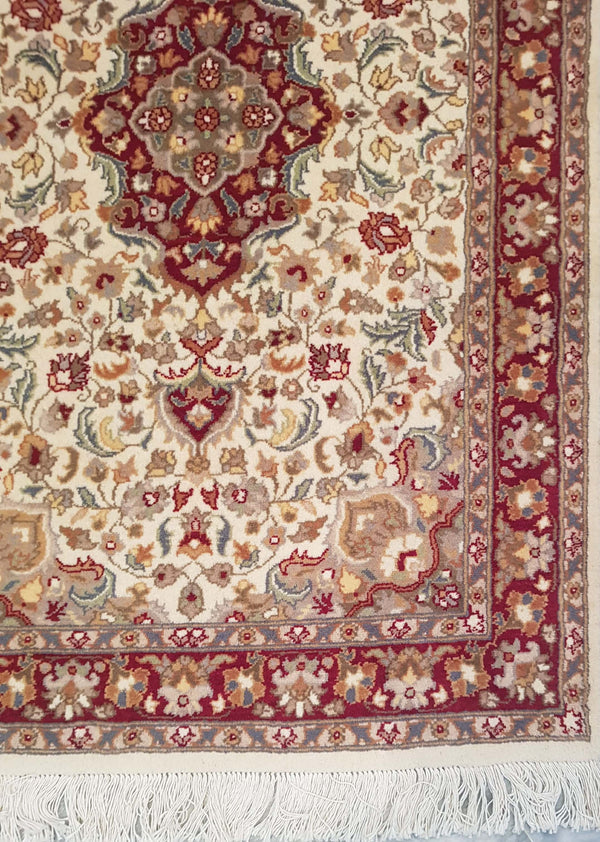 Rugs Online🥇 5.0 x 3.0 Isfahan Authentic Design Wool Handmade Persian Rug