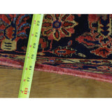 "Shrugs Antique 12'4""x19'3"" Oversized Antique Persian Maharajan Sarouk Full Pile and Soft Rug"