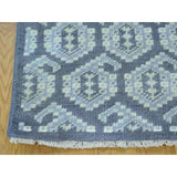 Shrugs Oushak And Peshawar 2'x3' Paisley Design Hand Knotted Turkish Knot Pure Wool Oriental Rug