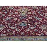 "9'9""x12'8"" Persian Tabriz 400 Kpsi Wool and Silk Handmade Oriental Rug Sh34032"