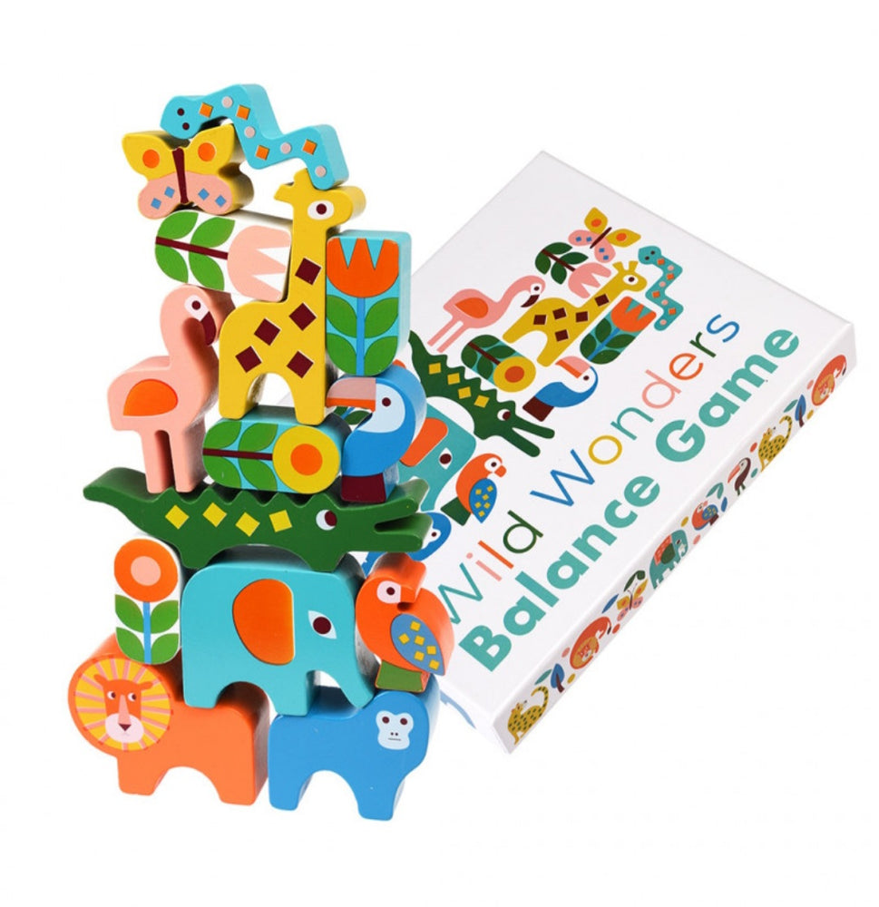 Wild Wonders Stacking Animals Balance Game