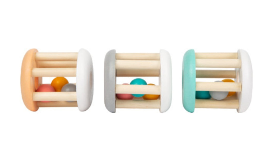 Pastel Baby Rattle