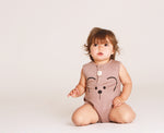 Bear Face Bubble Romper
