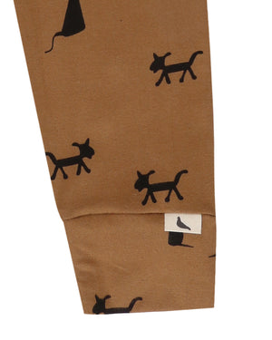Dogs & Cats Mustard Legging