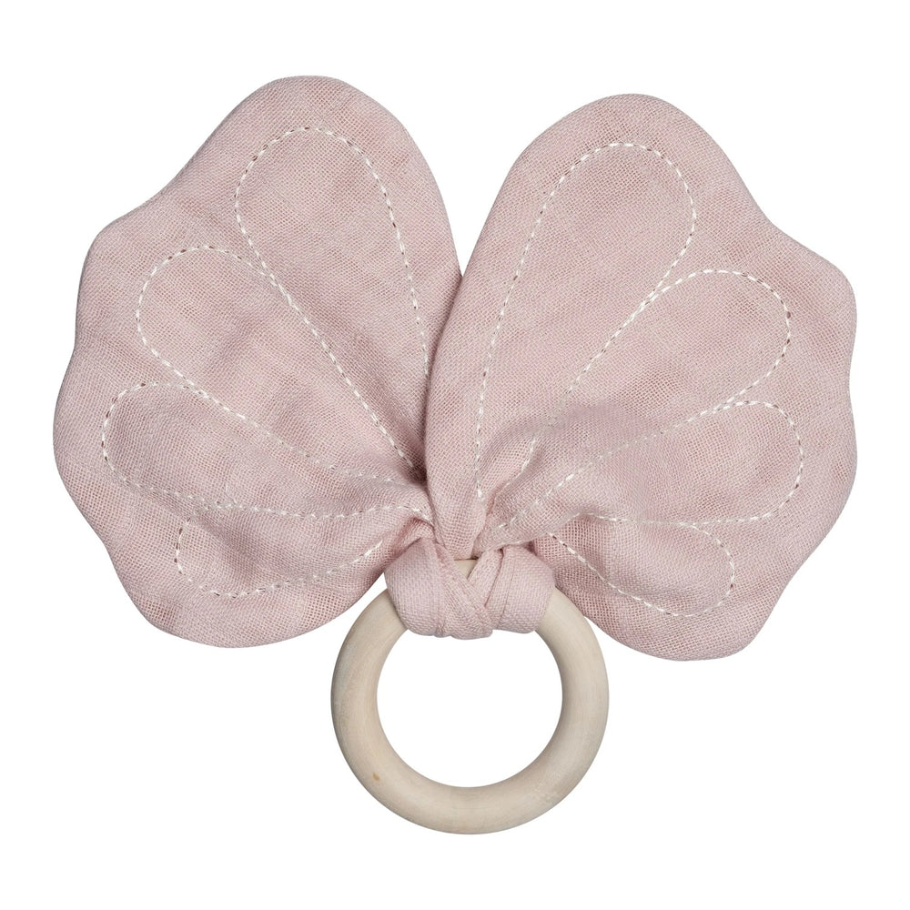 Teether Butterfly-Mauve