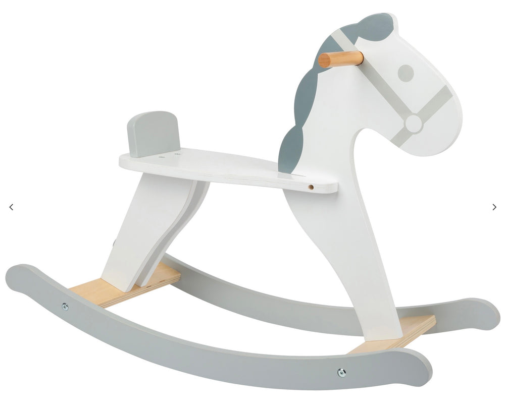 Scandi Wooden Rocking Horse